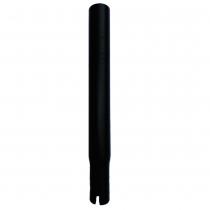 Tija de sillín para bicicleta JUMPER (larga 22,5 cm) color NEGRO