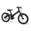 Bicicleta Kokua LiketoBike 16 2V-BRAKES color negro para niño