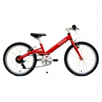 Bicicleta Kokua LiketoBike 20 color rojo para niño