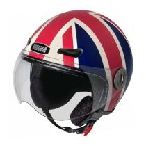 Casco Union Jack (Mate), Moto de NUTCASE.