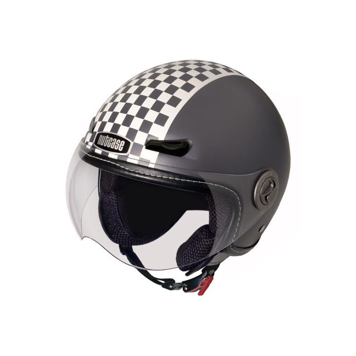 Casco Retro Racer (Mate), Moto de NUTCASE.