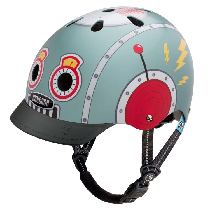 Casco Tin Robot Junior de NUTCASE.