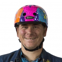 Casco Totally Rad, Street Sport de NUTCASE.