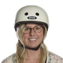 Casco Cream (Mate), Street Sport NUTCASE.