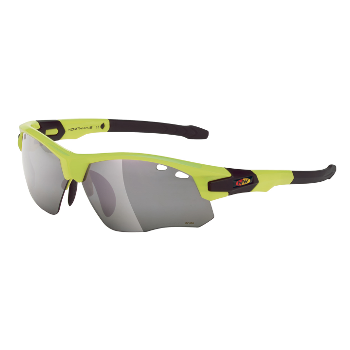 GALAXY Gafas Con Adaptador Optico Amarillo Fluo-Negro