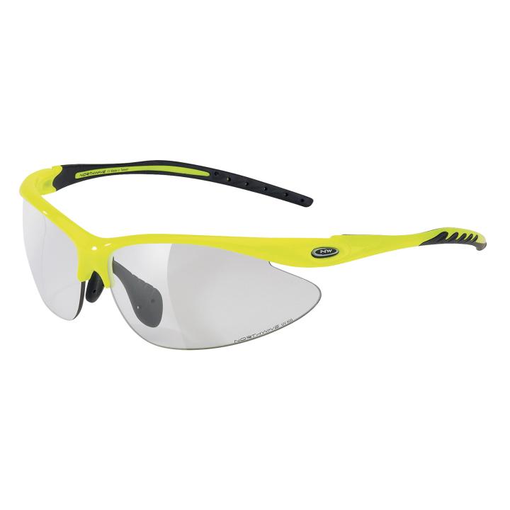 TEAM Fotocromatica Gafas Amarillo Fluo-Negro