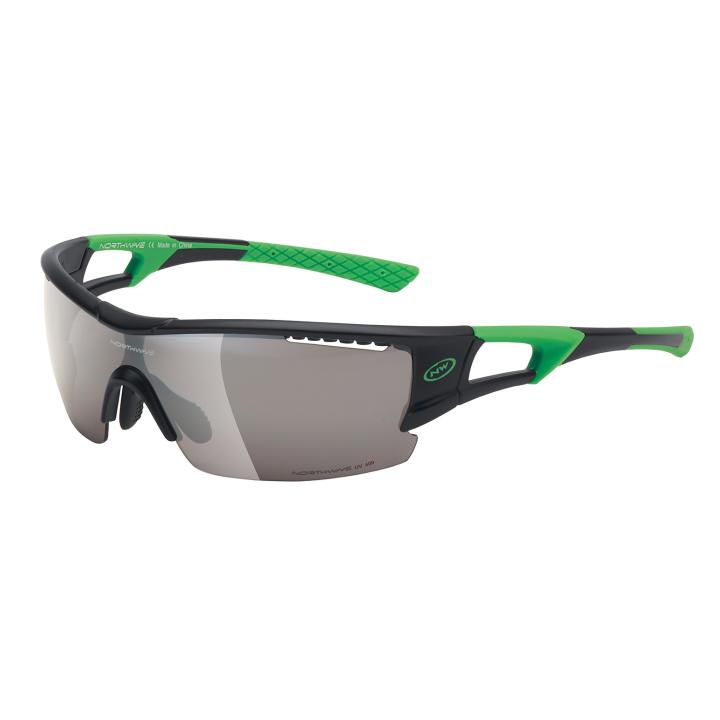 TOUR PRO Gafas Negro-Verde Fluo