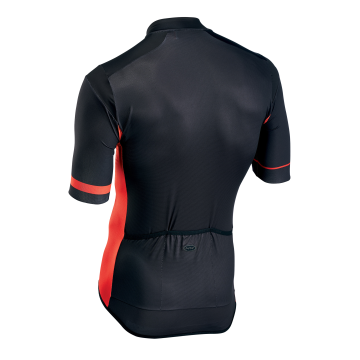 Maillot m/c AIR OUT Crem. Total Negro