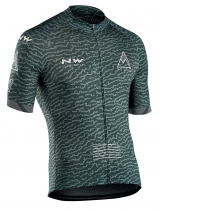 Maillot m/c ROUGH Crem Total Verde-Forest