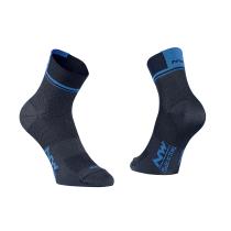 Calcetín LOGO 2 Negro-Azul