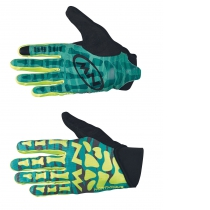 Guante Largo SKELETON ORIGINAL Verde-Amarillo Fluo