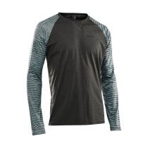 Camiseta m/l EDGE MTB Gris-Verde