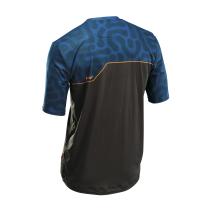 Camiseta m/c ENDURO MTB Grafite-Azul