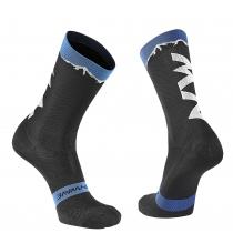 Calcetín CLAN Negro-Azul