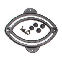 Raíl Elíptico ORTLIEB para gancho QL2, 1 unidad con tornillos