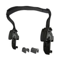 Ganchos ORTLIEB QL2.1 Asa Ajustable, 16mm Casquillo 8, 10 y 12mm (2 unidades)