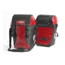BIKE-PACKER CLASSIC QL2.1 Alforja PAR (2x)20L Rojo-Negro ORTLIEB