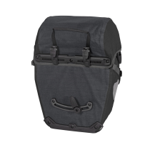 BIKE-PACKER PLUS QL2.1 Alforja PAR (2x)21L Negro ORTLIEB