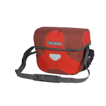 ULTIMATE 6 M PLUS Bolsa Manillar 7L Rojo-Granate ORTLIEB