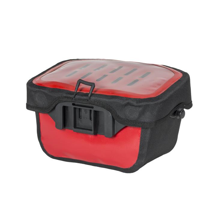 ULTIMATE 6 S CLASSIC Bolsa Manillar 5L Rojo-Negro ORTLIEB