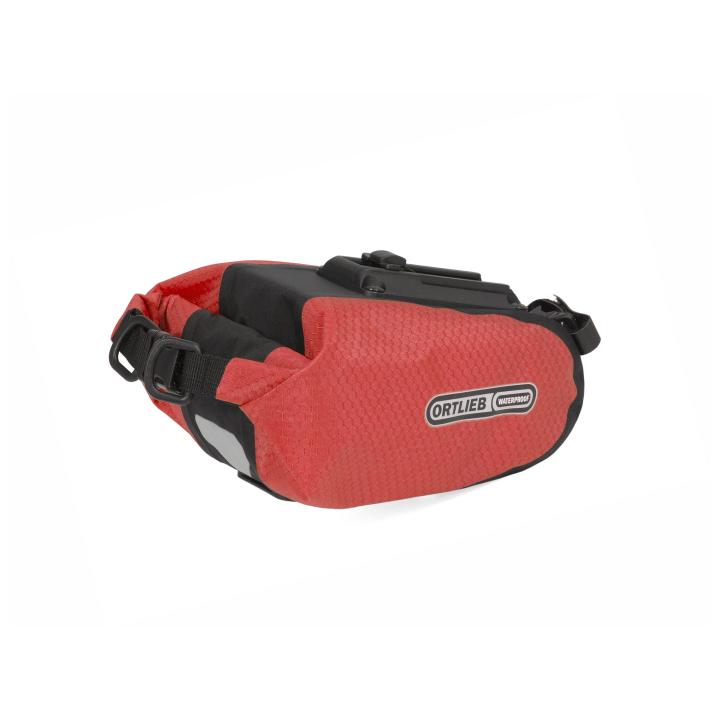 SADDLE-BAG  Bolsa Sillín S  0.8 Litros Rojo-Negro ORTLIEB