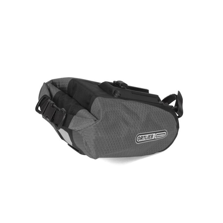 SADDLE-BAG  Bolsa Sillín M 1.3 Litros Slate-Negro ORTLIEB