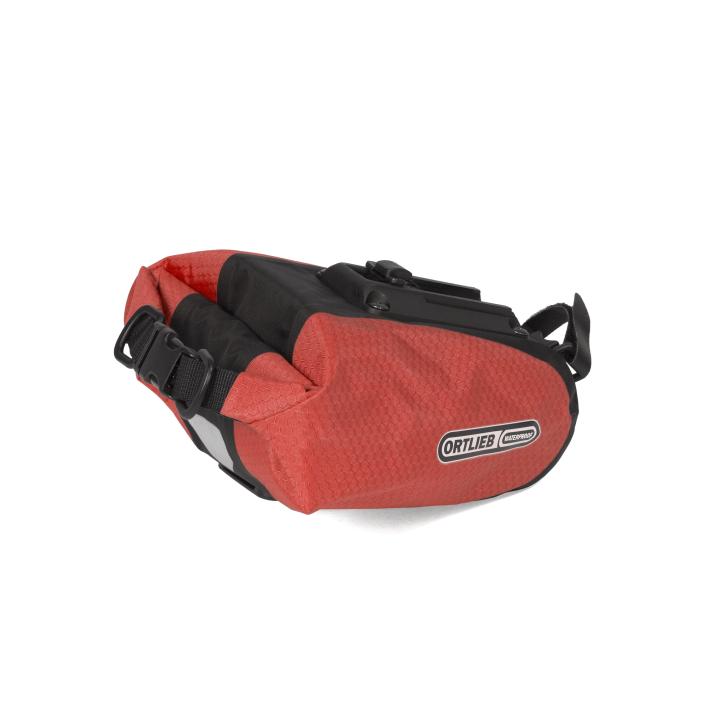 SADDLE-BAG  Bolsa Sillín M 1.3 Litros Rojo-Negro ORTLIEB