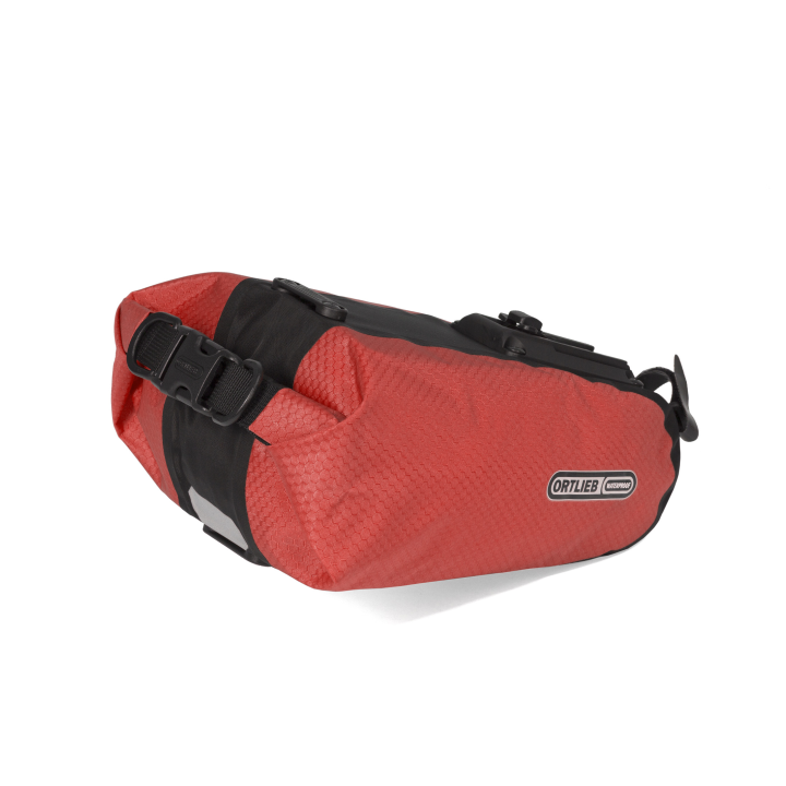 SADDLE-BAG  Bolsa Sillín L 2.7 Litros Rojo-Negro ORTLIEB