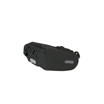 SADDLE-BAG HIGH VISIBILIRTY 2.7L Negro Reflectante ORTLIEB