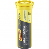 Bebida isotónica ELECTROLYTES LEMON TONIC+CAFEINA 12 tubos POWERBAR