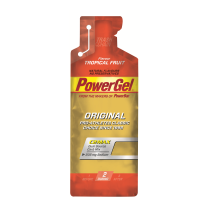 Gel de hidratos de carbono líquido POWERGEL+Sodio TROPICAL 24 u POWERBAR
