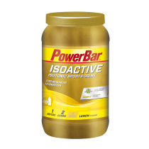 Bebida isotónica para deportistas BEBIDA BOTE ISOACTIVE 1320 gr LIMON POWERBAR