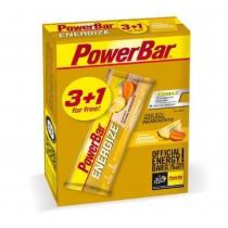 MULTIPACK Barritas ENERGIZE MANGO TROPICAL 10*4 (3+1 GRATIS) POWERBAR