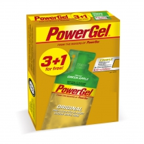 MULTIPACK Geles POWERGEL APPLE 10*4 (3+1 GRATIS) POWERBAR