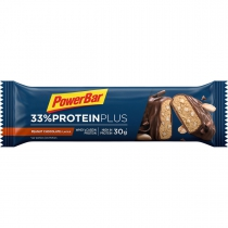 Barrita proteina PROTEINPLUS 33% CACAHUETE/CHOCOLATE 90gr*10u POWERBAR