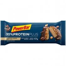 Barrita proteina PROTEINPLUS 30% CAPUCCINO/CARAMELO 55gr*15u POWERBAR