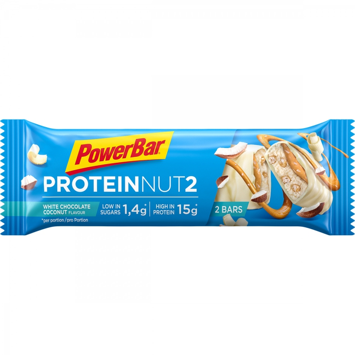B.PROTEIN NUT2 WHITE CHOCOL.COCONUT 18*(2*22,5)gr