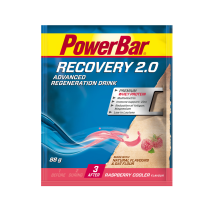 Bebida de regeneración RECOVERY 2.0 RASPBERRY 88gr * 20u SOBRE POWERBAR