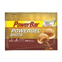 POWERGEL SHOTS COLA con relleno líquido con CAFEINA 60gr *16u POWERBAR