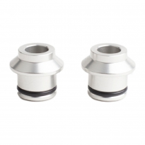 HUSKE 12mm*100mm PLUGS (COLOR PLATA)