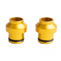HUSKE 15mm PLUGS (COLOR DORADO)